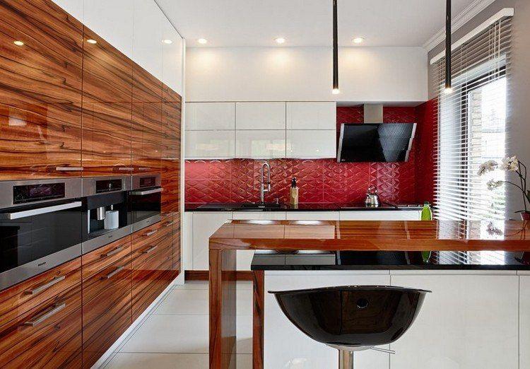 Couleur pour cuisine \u2013 105 idées de peinture murale et façade Kitchens - peindre une armoire en bois