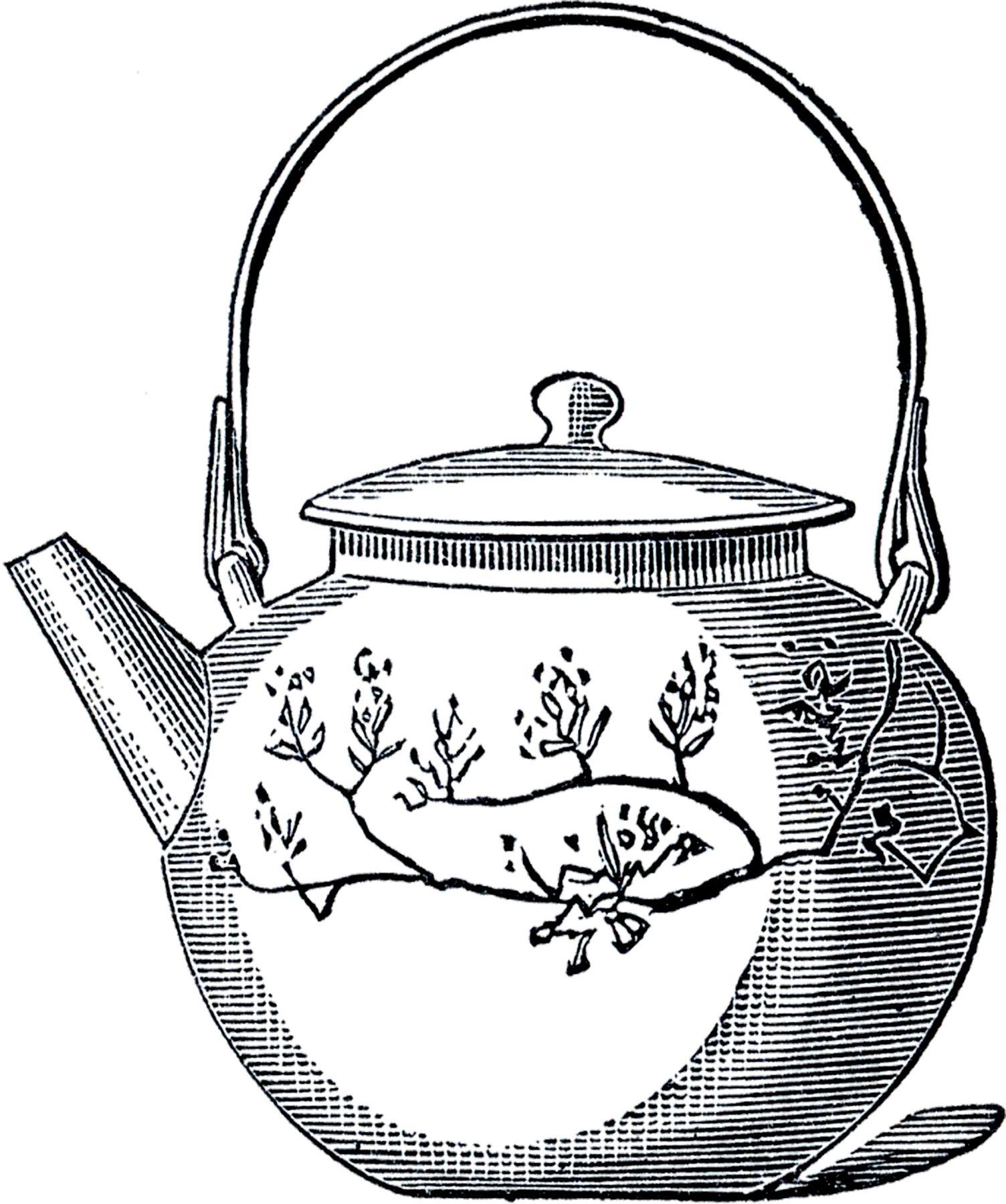 10 Best Teapot Clipart! | Tea pots, Asian teapots ...