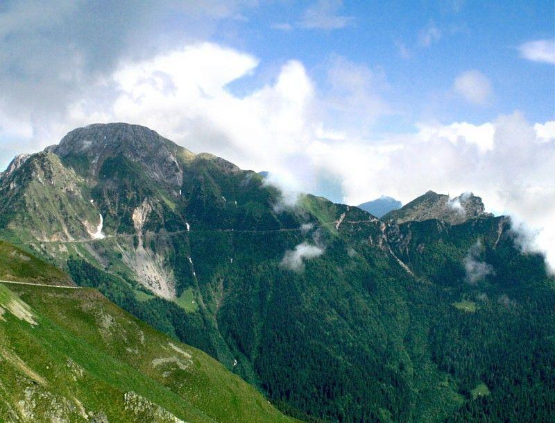 Passo del Baremone (1450 m) - Alpi Centrali