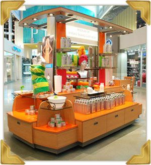 Isla centro comercial modulos retail pinterest for Construccion de modulos comerciales