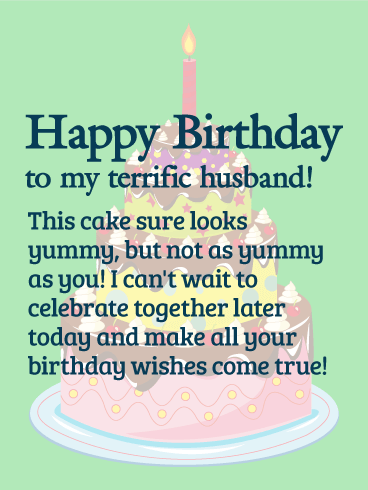 Happy Birthday Wishes Card Your Husband Is A Lucky Man How Do We Know Because Hes Married To You Thoughtful Sexy Thing