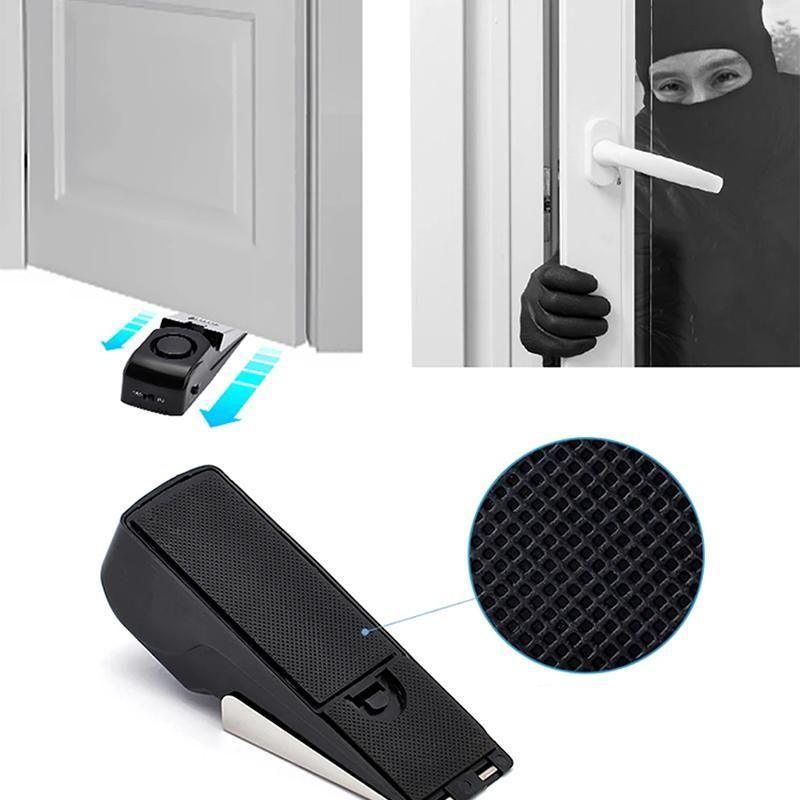 Smart Door Stopper Alarm Rockcoo In 2020 Rockcoo Door Stopper Door Alarms
