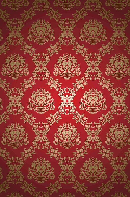 Black Red Floral Vintage Damasks Design Iphone 12 Soft By Artonwear Flowery Wallpaper Red And Black Wallpaper Red And Black Background