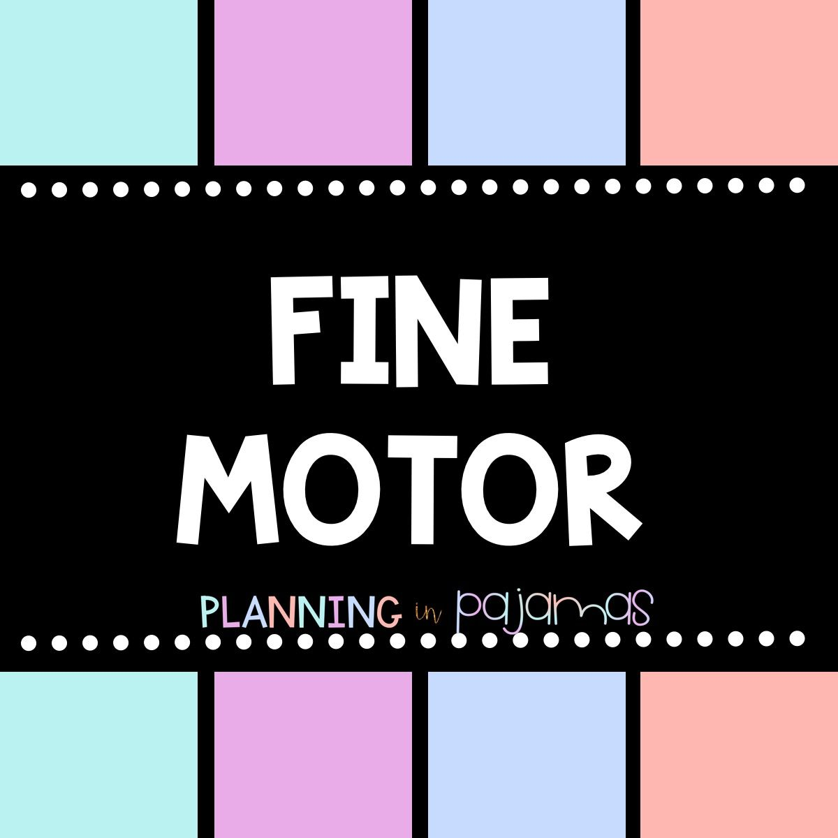 Fine Motor Activities For Pre K And Kindergarten Scissor