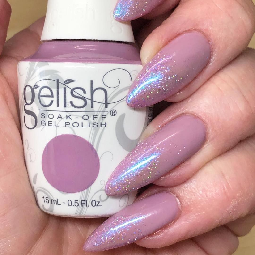 Nail Harmony Uk On Instagram Merci Bouquet From The New Spring 19 Gelish Collection The Color Of P Nail Harmony Gelish Nail Colours Heart Nail Designs