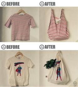 Recyclez Vos Vieux T Shirts Diy Couture Déco Maison Free Sewing
