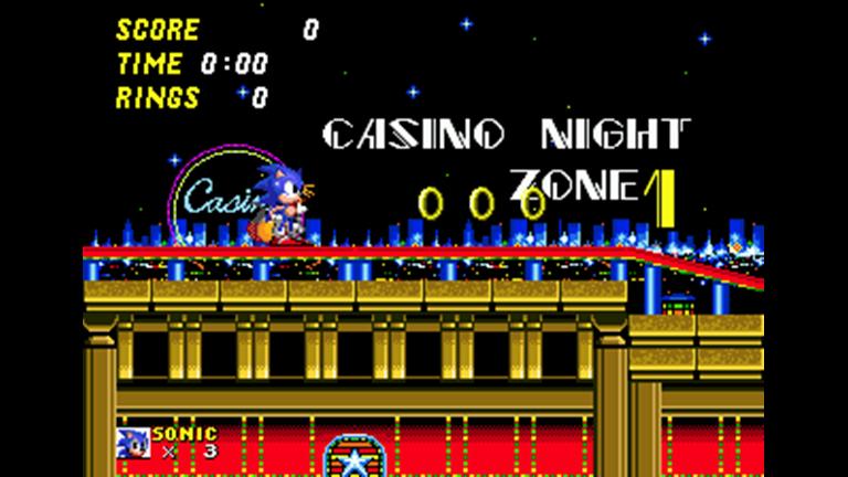 Casino Night Zone!!** New Sonic RP: Sonictopia - ROBLOX | Letter