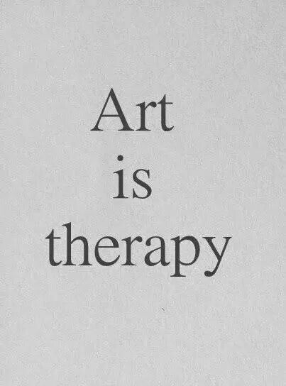 Art is therapy. Create something fun today! #