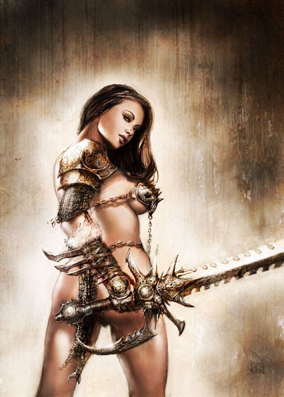 Warrior by Luis Royo via Beauty Illustrations