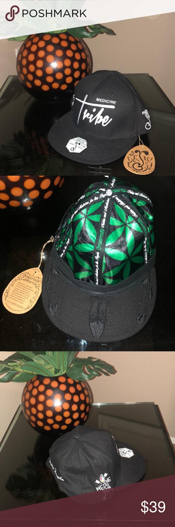 Grassroots Hat Medicine Tribe Ca Nahko 420 Friends And Company Hats Tribe