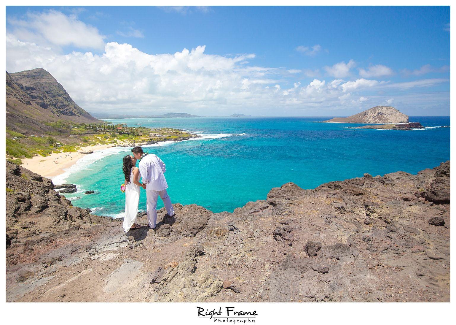 invitations wedding renewal vows ceremony%0A www rightframe net  Beautiful Destination Wedding Vow Renewal in Oahu   Hawaii