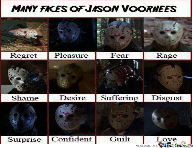 "the ""many"" faces of jason"