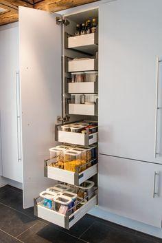 Vorratsschrank küche weiß  vorratsschrank küche - Google-Suche | Aneks kuchenny | Pinterest ...