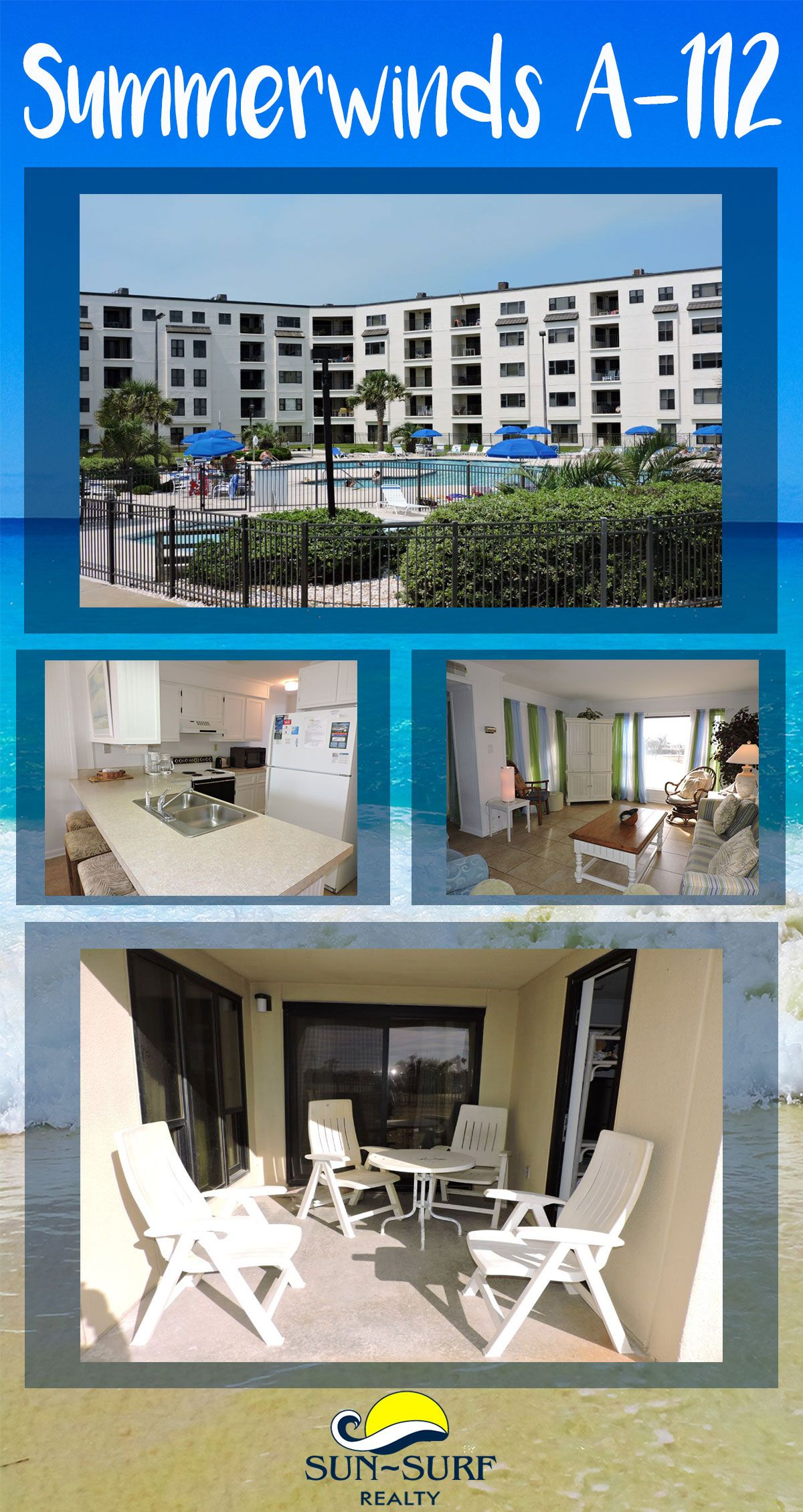 Summerwinds A 112 Is An Amazing Place To Rent For You Emerald Isle Beach Vacation Anytime Of Year Oceanfront Vacation Rentals Oceanfront Condo Places To Rent