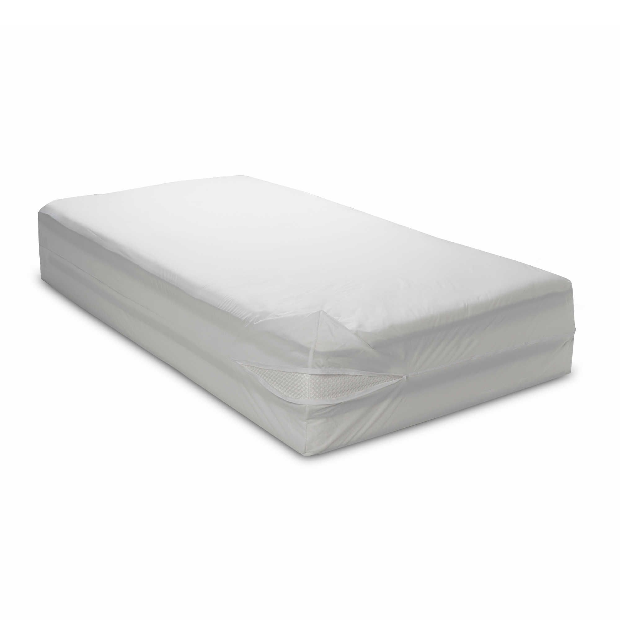 Water Resistant Washable 16 Bed Bug Blocker Zippered Mattress Cover Protector Walmart Com In 2020 Mattress Covers Mattress Bed Bugs