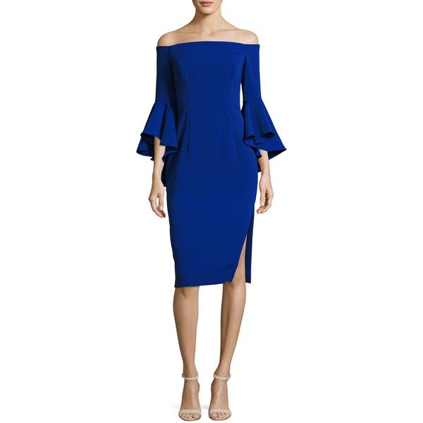 DRESSES - 3/4 length dresses Milly Discount Outlet LOxDQhRd2O