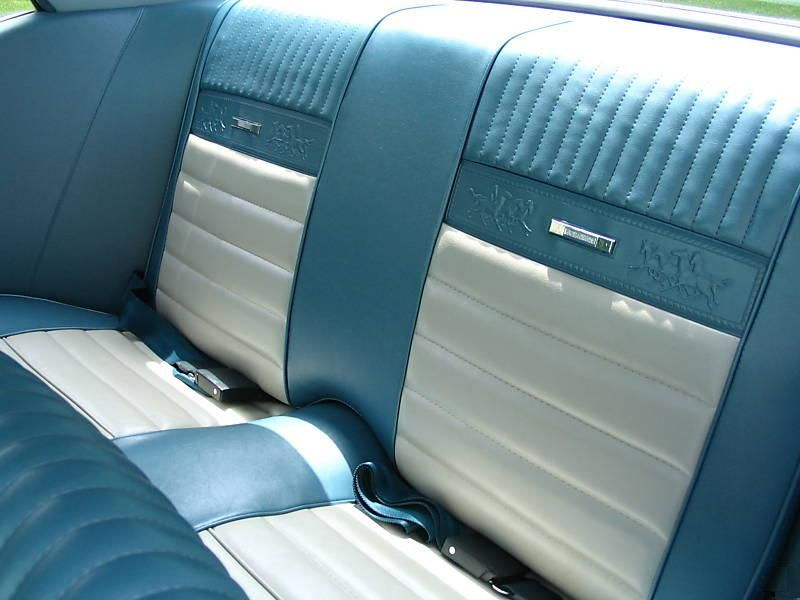 North Freeway Hyundai >> Blue and White Pony Interior 66 Mustang Hardtop | 65/66 MUSTANGS COUPE | Mustang interior, 66 ...
