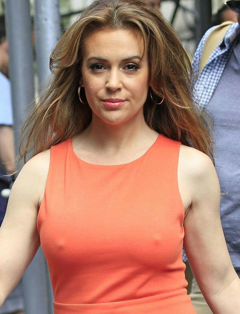Sideboobs Alyssa Milano nude photos 2019