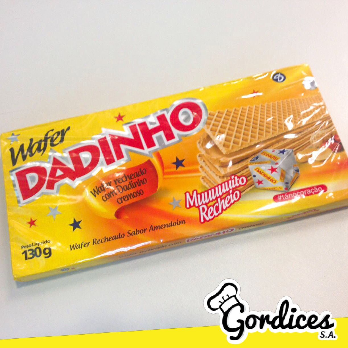 Wafer de Dadinho? 😱💛 - www.gordicessa.com
