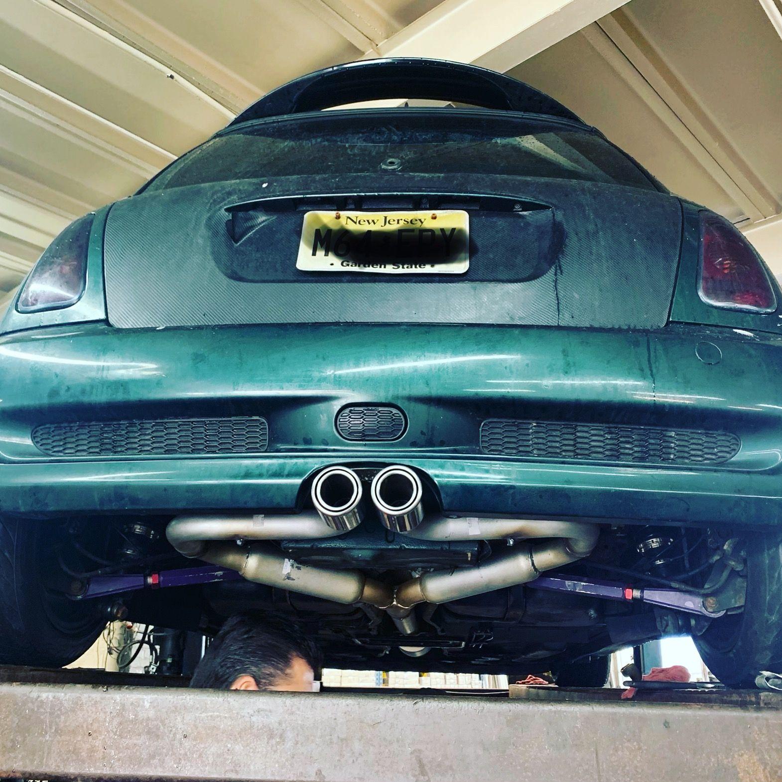 Mini Cooper R53 Pacesetter Exhaust Mini Cooper Mini Cooper S Toy Car