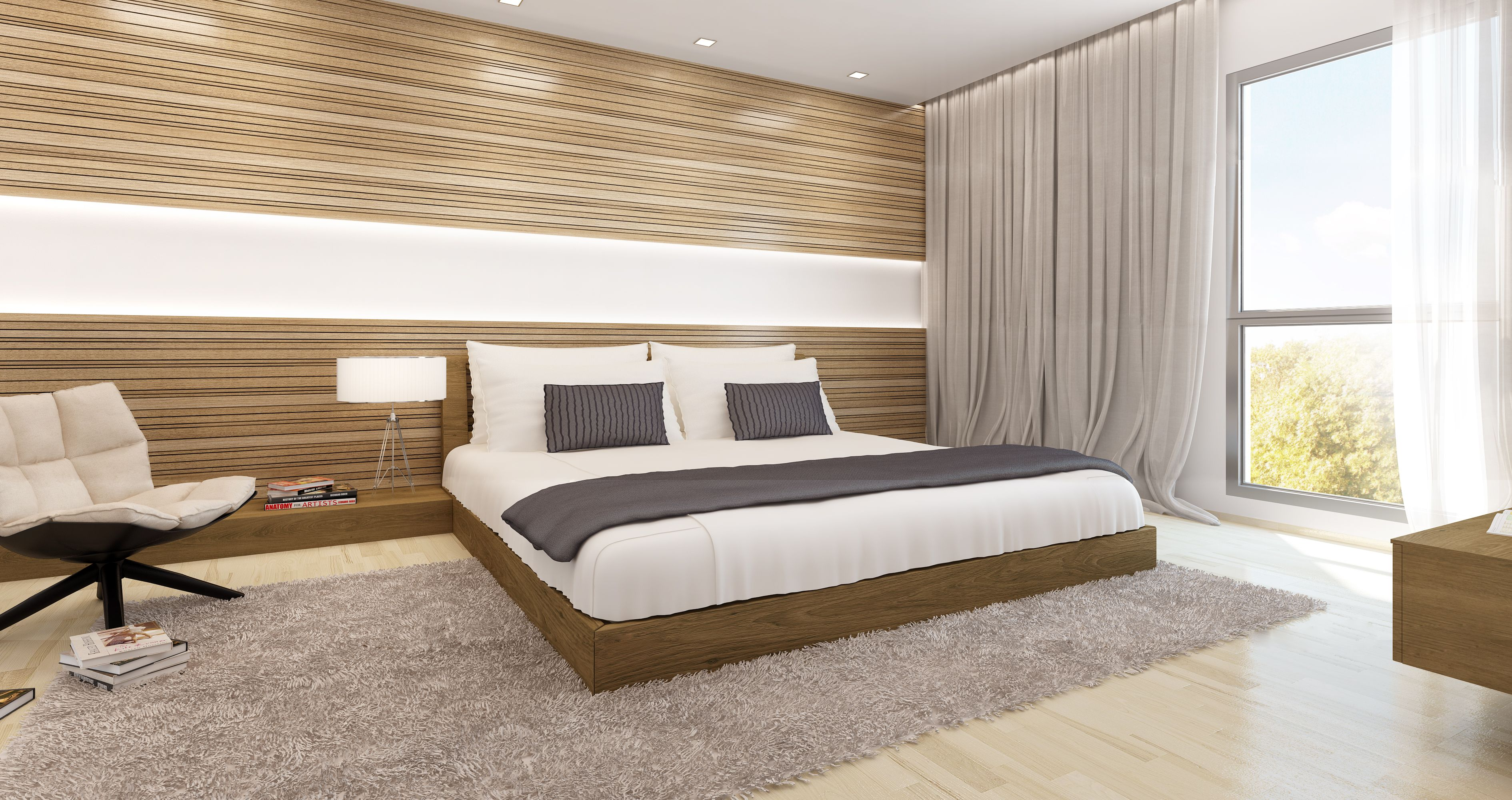 Beautiful 3D Bedroom Architecture Render. | Our Bedroom Renders | Pinterest |  Architecture
