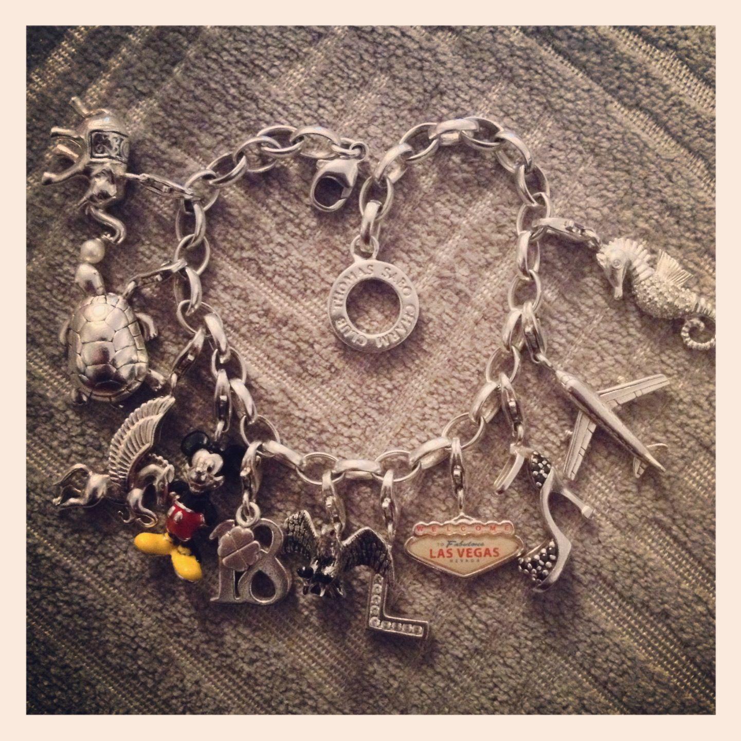 My Thomas Sabo Charm Club Bracelet Thomas Sabo Charms Thomas Sabo Charm Bracelet