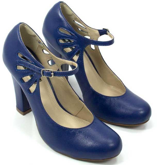 4c351013dc Sapato Boneca em Couro - ZPZ SHOES site sapatos retrô!