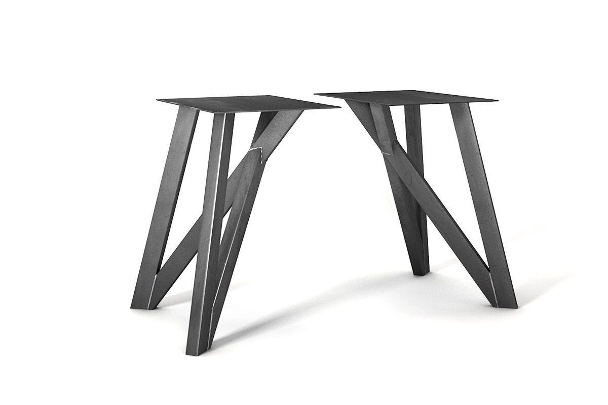Esstisch Gestell Stahl Nach Mass Holzpiloten Esstisch Esstisch