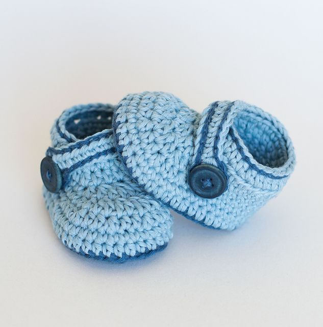 Ravelry: Crochet Baby Booties - Blue Whale pattern by Croby Patterns ...
