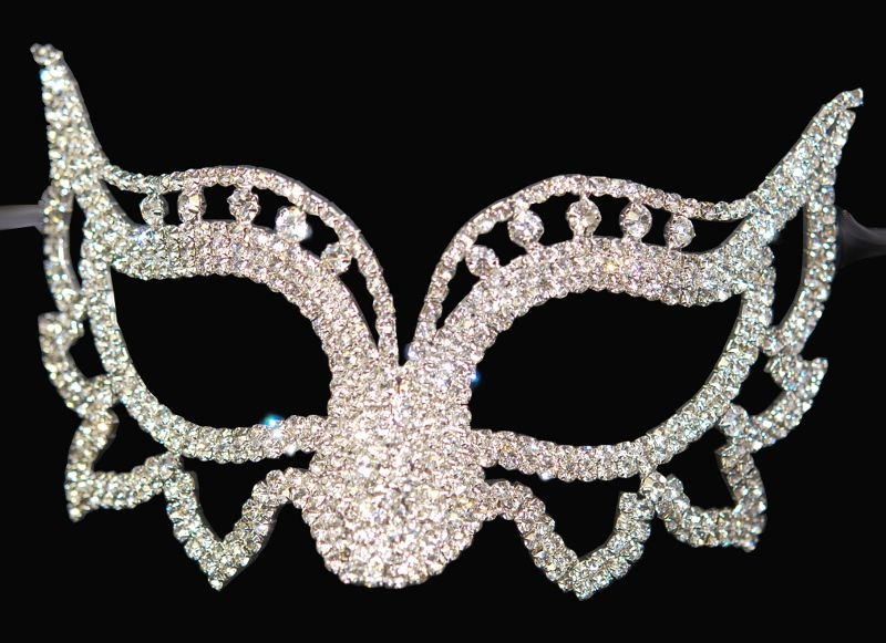 Mardi Gras Masquerade Masks | View detailed images (1)