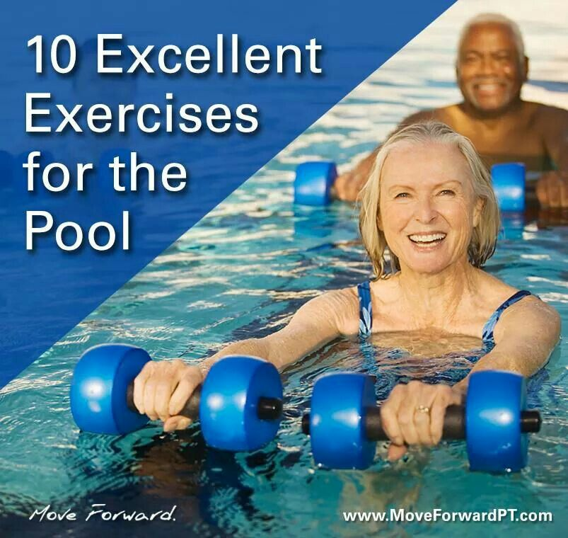 Pool Exercise Fitness Pool Workout Swimming Pool