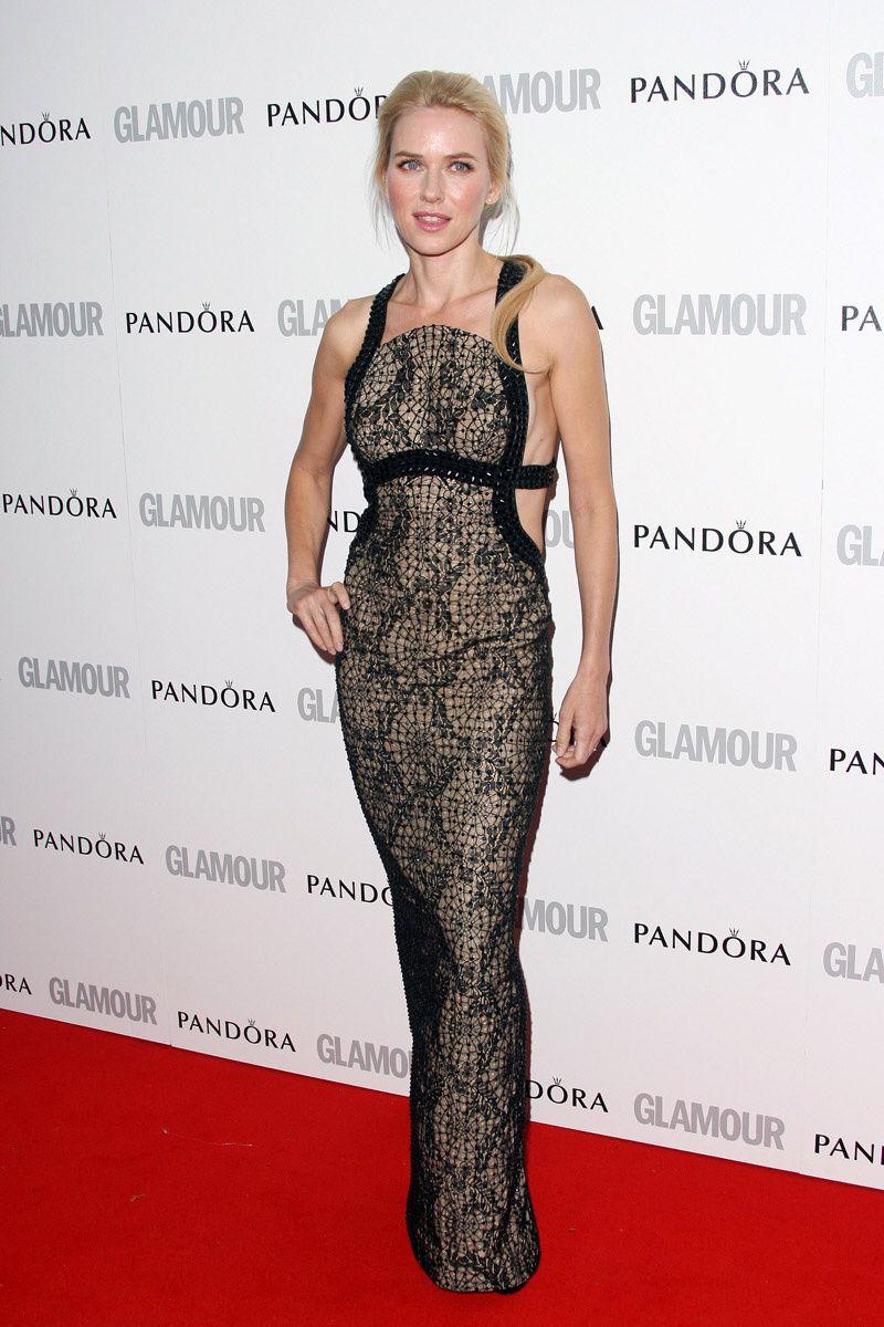 los looks de alfombra roja de Naomi Watts: Glamour Women of the Year
