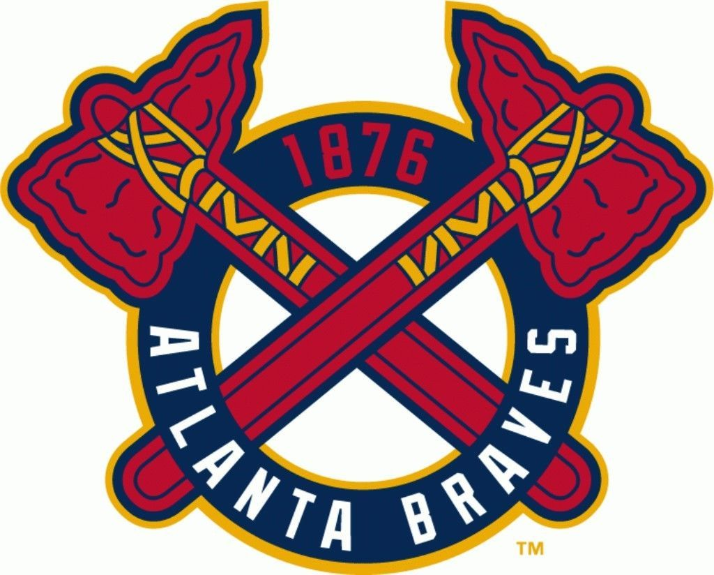 Atlanta Braves 8 Mlb Team Logo Vinyl Decal Sticker Car Window Wall Cornhole Ebay Atlanta Braves Logo Atlanta Braves Wallpaper Atlanta Braves Baseball