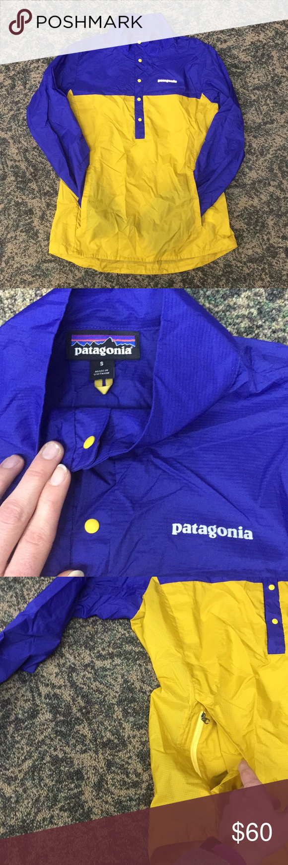 Patagonia 'Houdini', lightweight jacket. SMALL