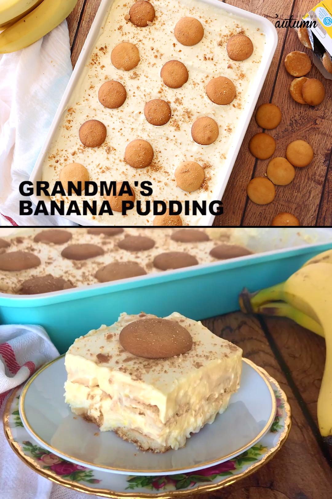 Easy Banana Pudding #bananapudding