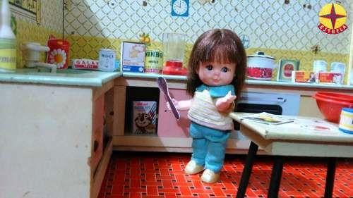 mini doll kity da estrela,década de 60.