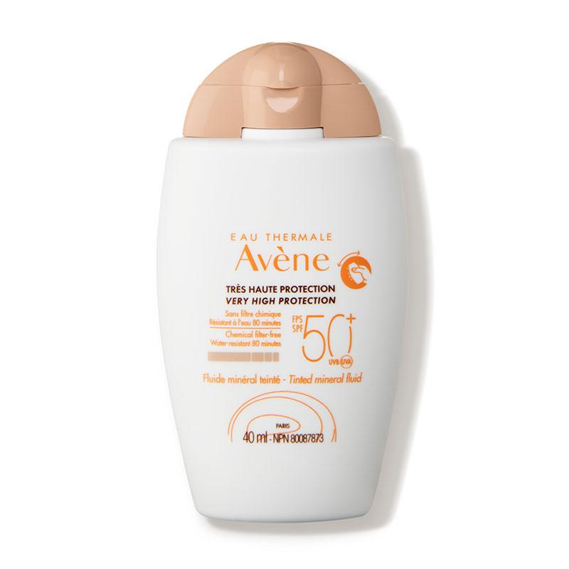 Avène Tinted Mineral Sunscreen Fluid SPF 50+ Dermstore