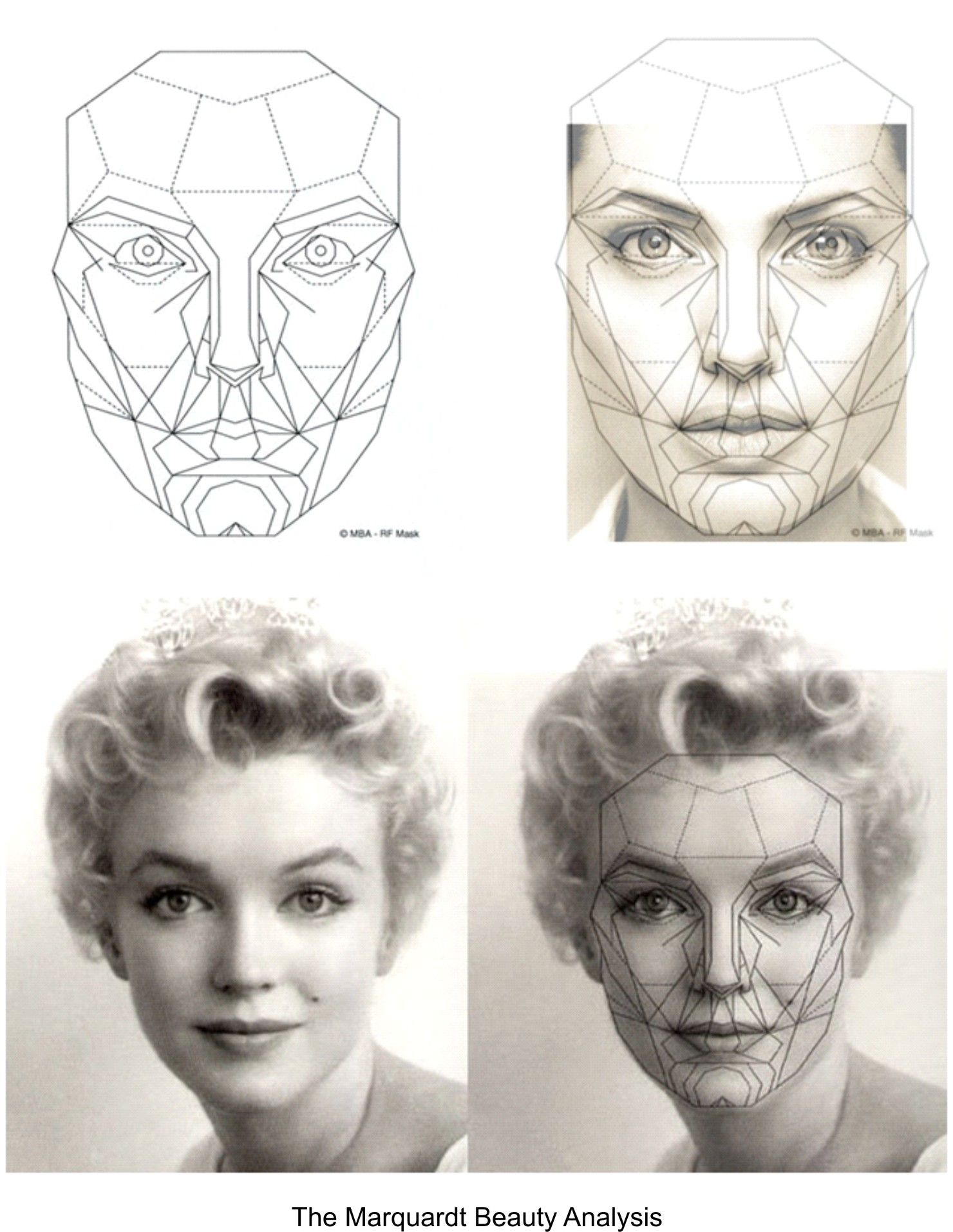 Geometry facial analysis program