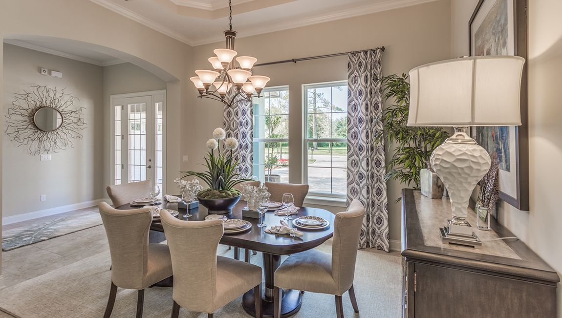 Formal Dining Room Off The Front Entry