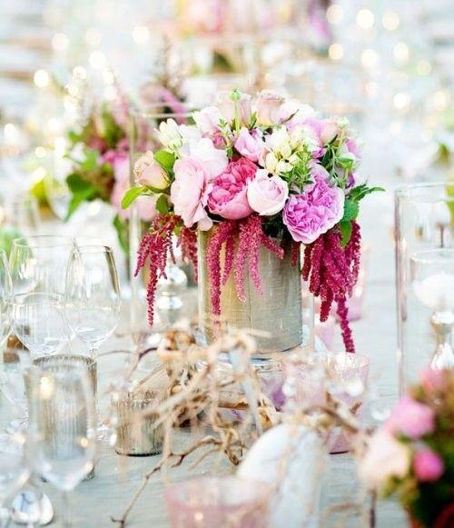 Como hacer un arreglo floral para bodas pasos y trucos - Centros florales navidenos ...