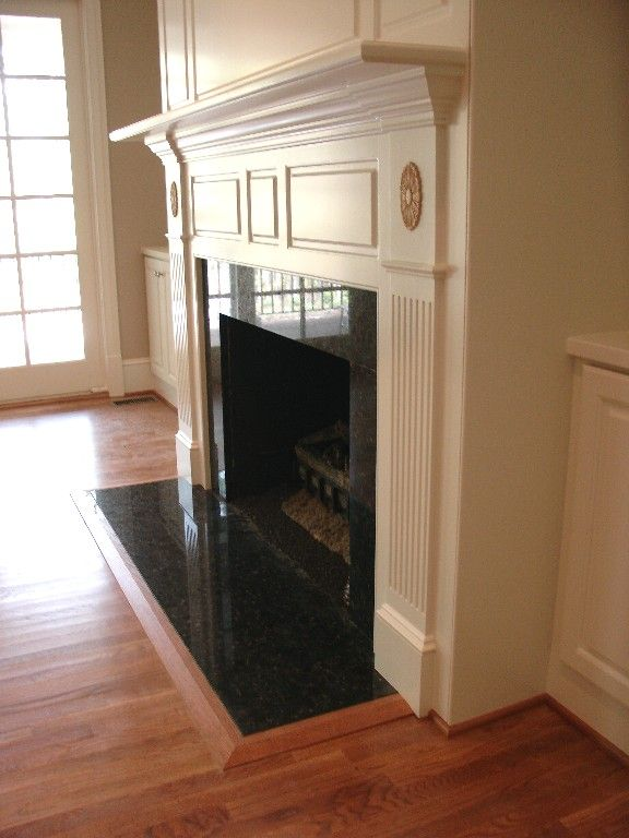 Ubatuba Granite Fireplace Granite Fireplace Fireplace Remodel