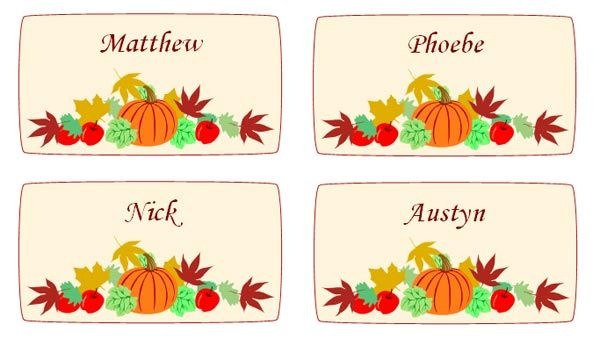 photo relating to Printable Thanksgiving Place Cards known as no cost templates for thanksgiving issue playing cards Free of charge Down load