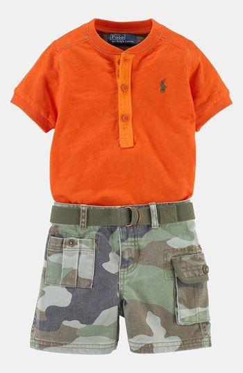 Ralph Lauren Shirt Shorts Baby Baby Boy Shirts Baby Boy Camo