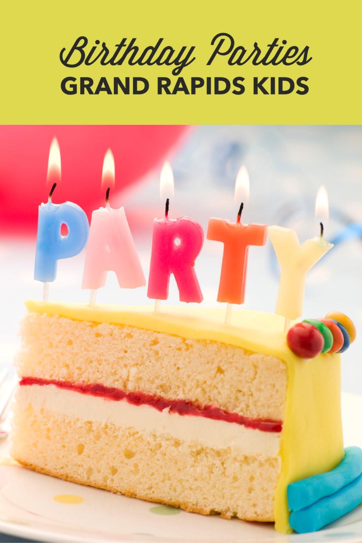 Birthday Party Grand Rapids Kids Tall