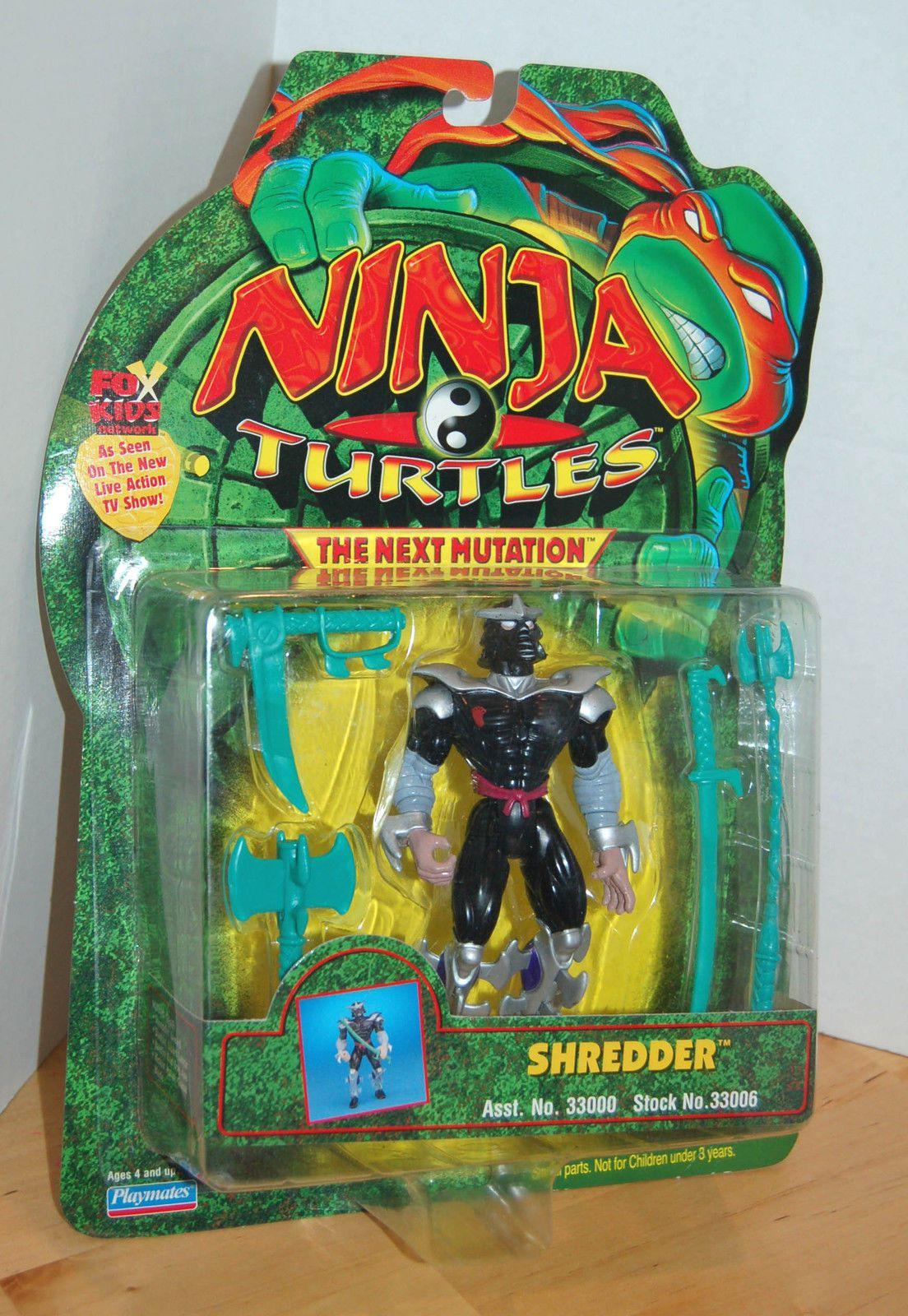 The Ninja Turtles Next Mutation Toys : Vintage tmnt teenage mutant ninja turtles shredder figure