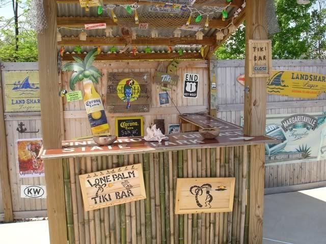 Outdoor Ideas · Poolside Tiki Bar Med