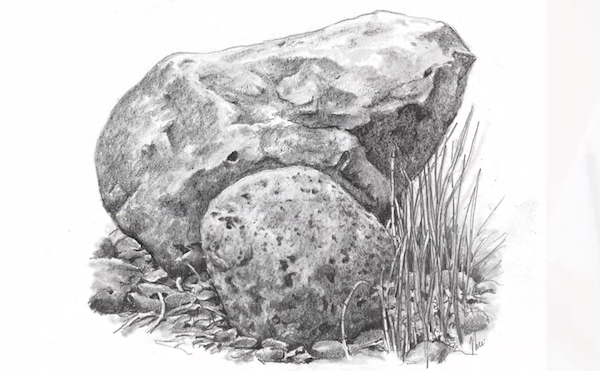 27+ Rock sketches ideas