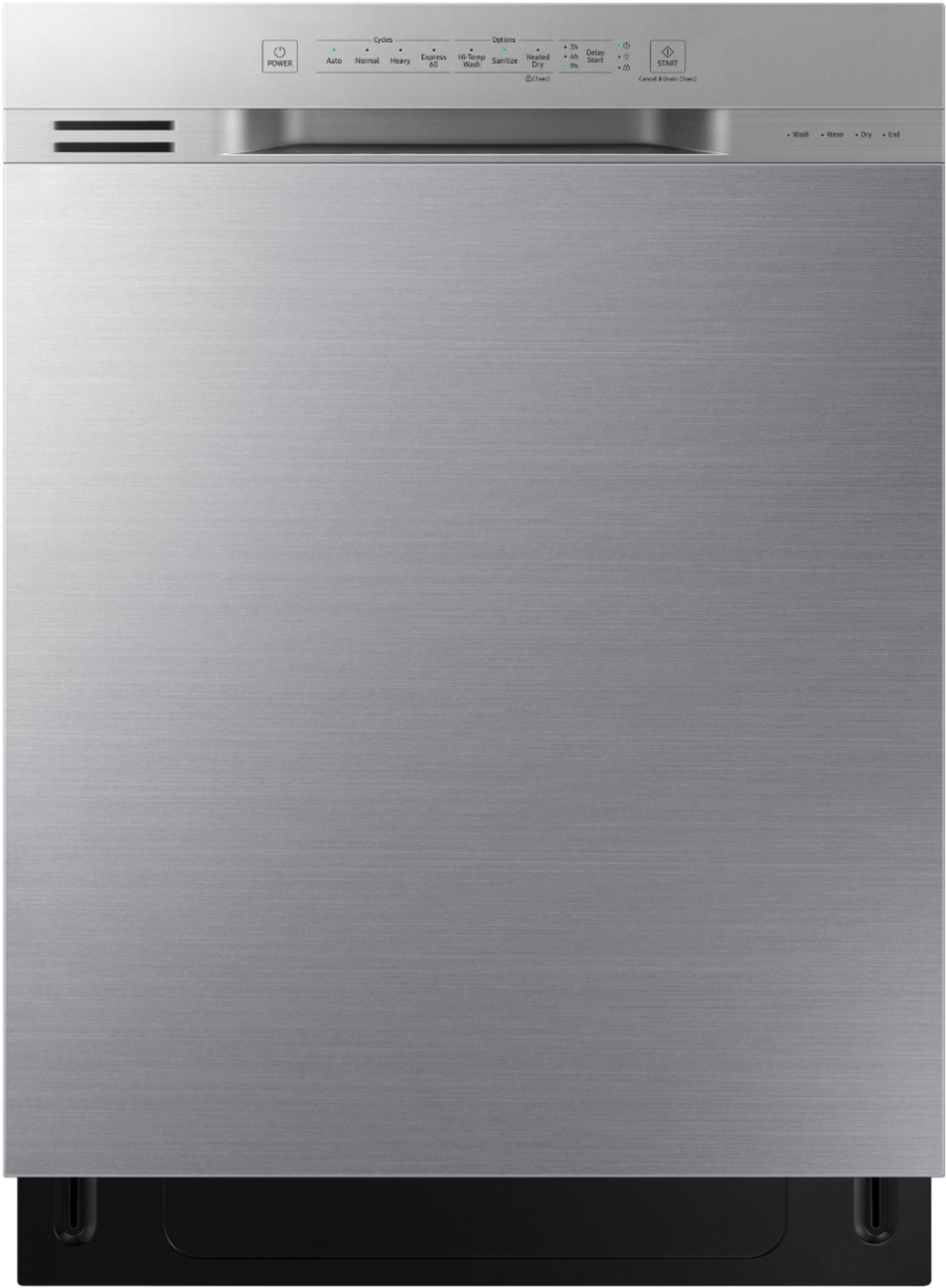 Samsung 24 Front Control Built In Dishwasher Stainless Steel Dw80n3030us Best Buy Built In Dishwasher Samsung Dishwasher Stainless Steel Dishwasher
