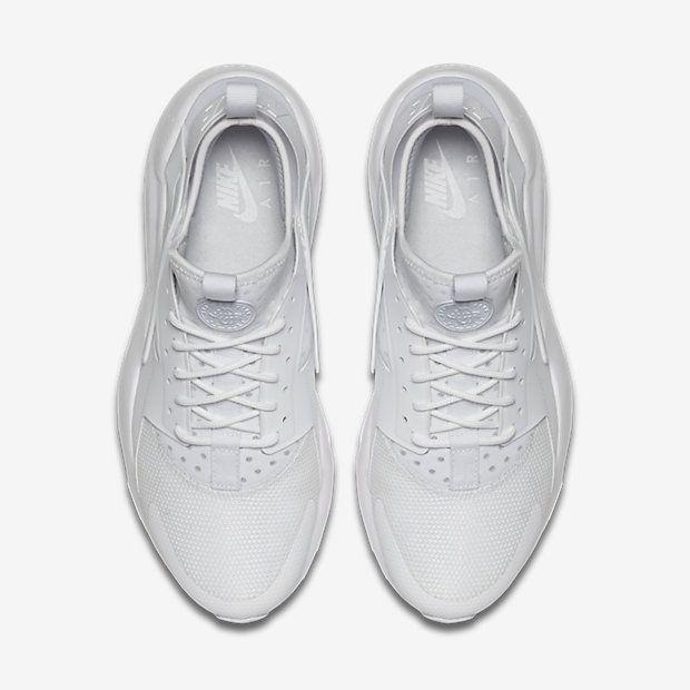 huge selection of 0bac8 7626a Chaussure Nike Air Huarache Pas Cher Femme et Homme Ultra Blanc Blanc Blanc