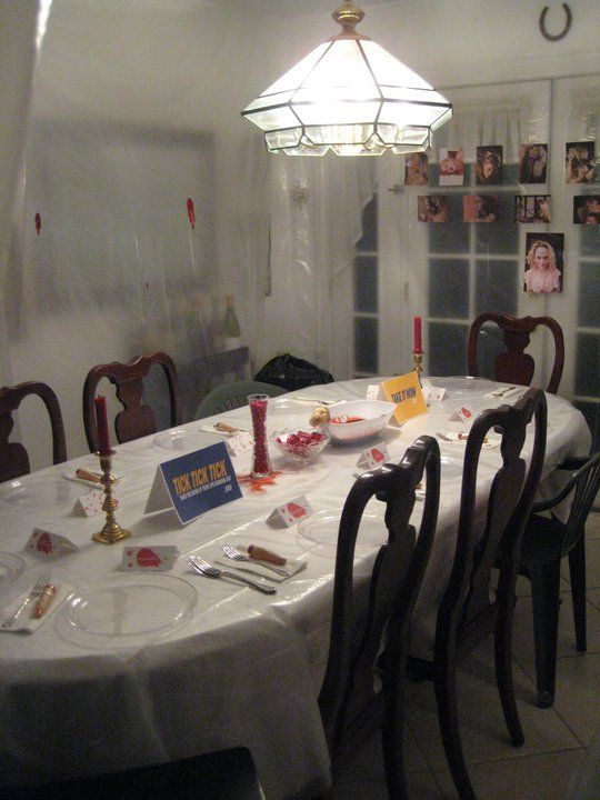 Dexter Dinner Party Freaky Scary But Funny For Dexter Season Coming Up Dexter Halloween Dexter Halloween Party